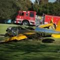 ハリソン・フォード飛行機墜落事故。無事で一安心!