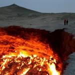 【世界まる見え】トルクメニスタンの巨大クレーター(地獄の門)に生命体はいる?