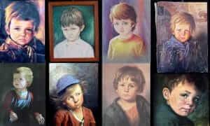 火事を招く呪いの絵画!「泣く少年の絵」の作者、モデルとは?イギリスの都市伝説【世界まる見え!】